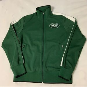 Vintage Nike New York Jets Track Jacket Sweater